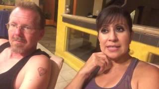 Vlogust Day 24, Hangout, Garden Meatless Meatloaf, Facebook Hack Warning!
