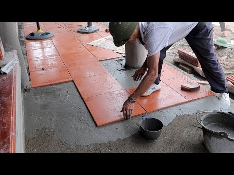 Amazing Skills Construction Ceramic Tiles High Quality - How To Install Tiles Step by Step