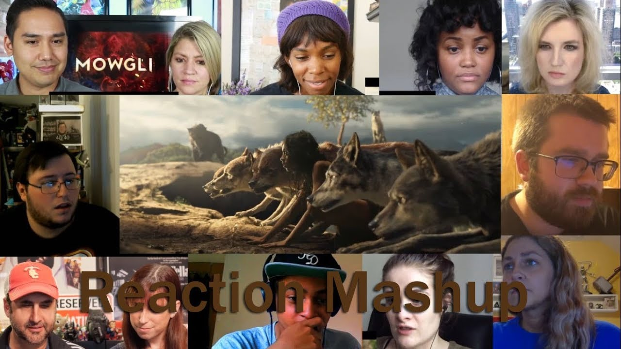 MOWGLI Official 1st Trailer REACTION MASHUP