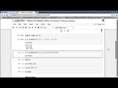 Python for Matlab Users - Towards Data Science