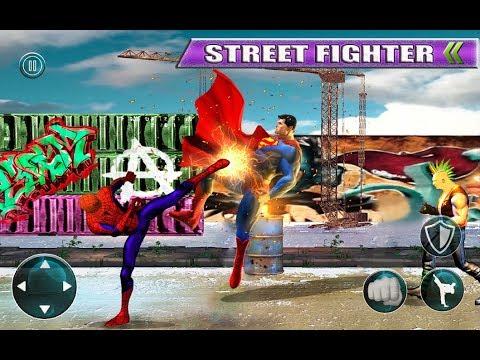 Spiderman Fighting Game
