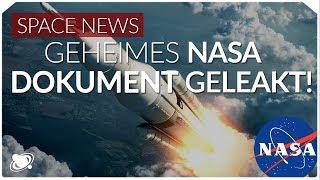 Internes NASA-Dokument mit Plänen geleakt | Raumzeit Spacenews (2019)