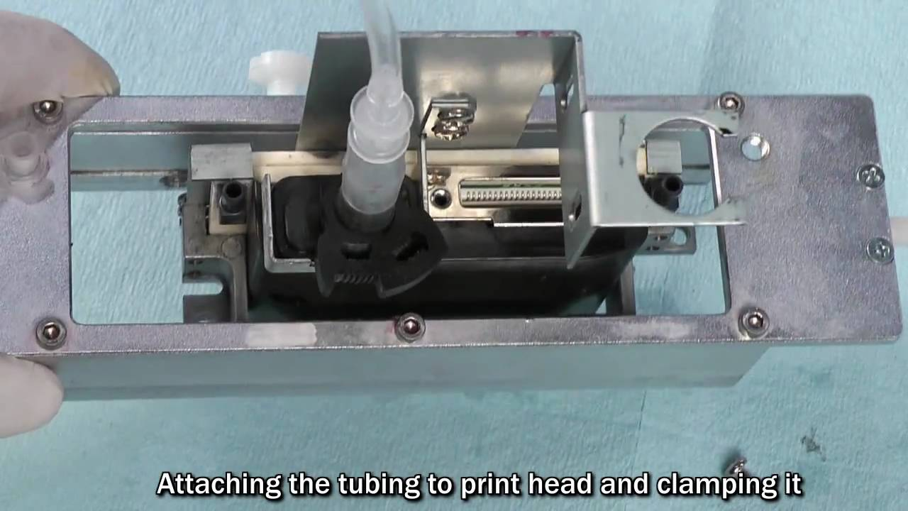 Print Head Doctor 3 recovers Toshiba Tec print head of Mimaki and Oce  Arizona 350GT