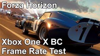 Forza Horizon Xbox One X vs Xbox One vs Xbox 360 Backwards Compatibility Frame Rate Test