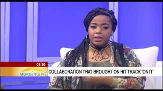 Shekhinah Donnell, Dj Sliqe on their collaboration