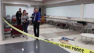 Crime Scene Lesson