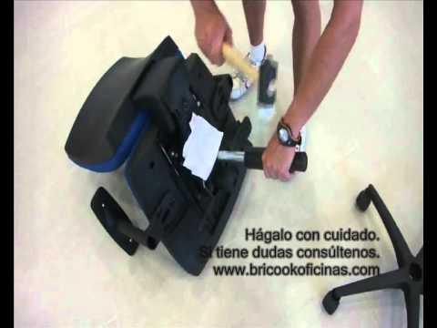 Trucos para cambiar la base y el pistón de gas de una silla ...