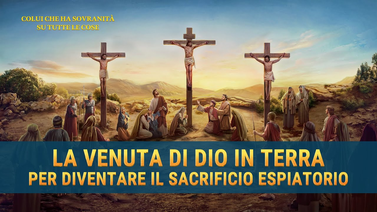 Film documentario (Spezzone 10) - La venuta di Dio in terra per diventare il sacrificio espiatorio