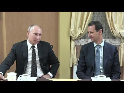 بوتين: روسيا ستحتفظ بقاعدة عسكرية في سوريا  - نشر قبل 2 ساعة