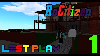 [ROBLOX: RoCitizens] - Lets Play Ep 1 - Decorating Luxury Cabin