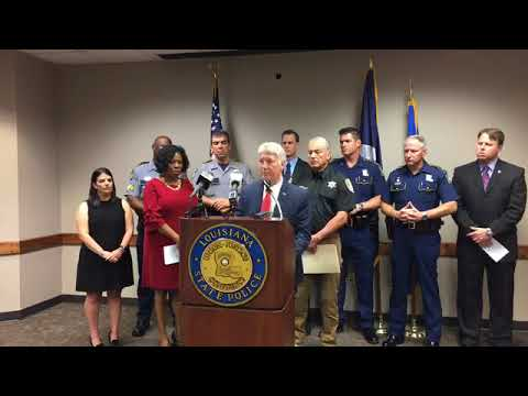 Baton Rouge Law Enforcement Provides Update on Kenneth Gleason Arrest