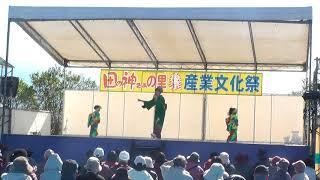 夏帆・年長さん、恵丞・年少さん 田の神さぁの里☆産業文化祭に呼んで頂...
