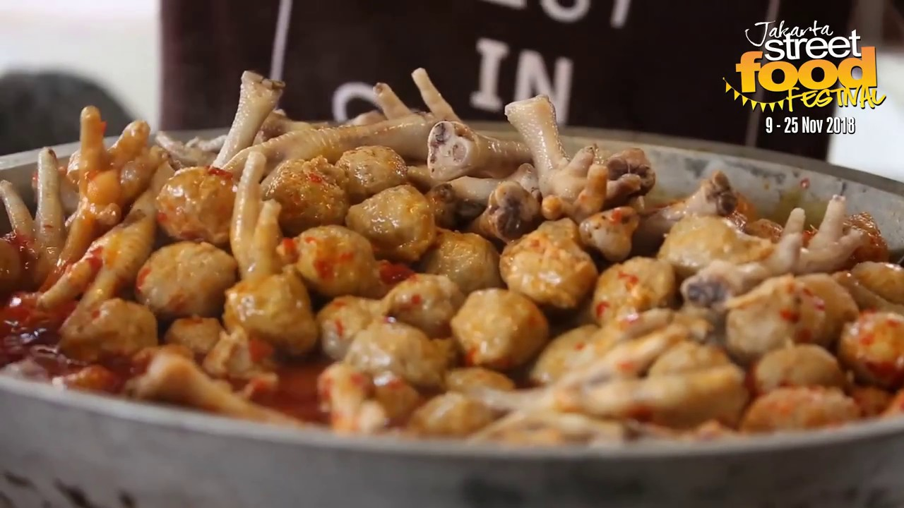 Liputan Jakarta Street Food Festival 2018 Youtube