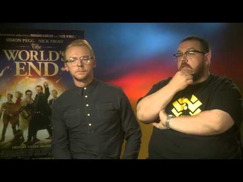 Simon Pegg and Nick Frost Interview - The World's End