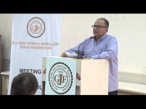 GJF's seminar on Excise by Mr. Ashok Minawala