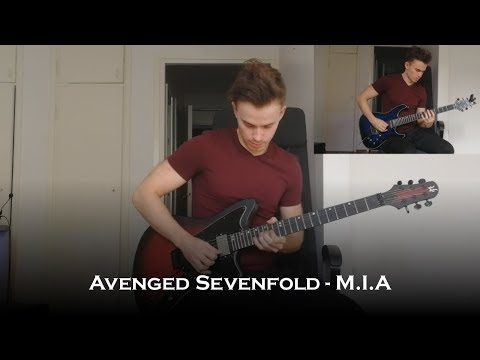 Avenged Sevenfold - M.I.A (Guitar Cover + All Solos)