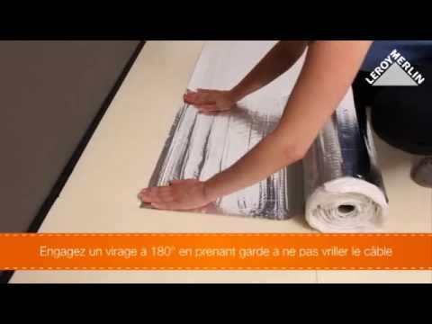 Installer le sol chauffant lectrique fmd equation youtube - Sol chauffant electrique ...