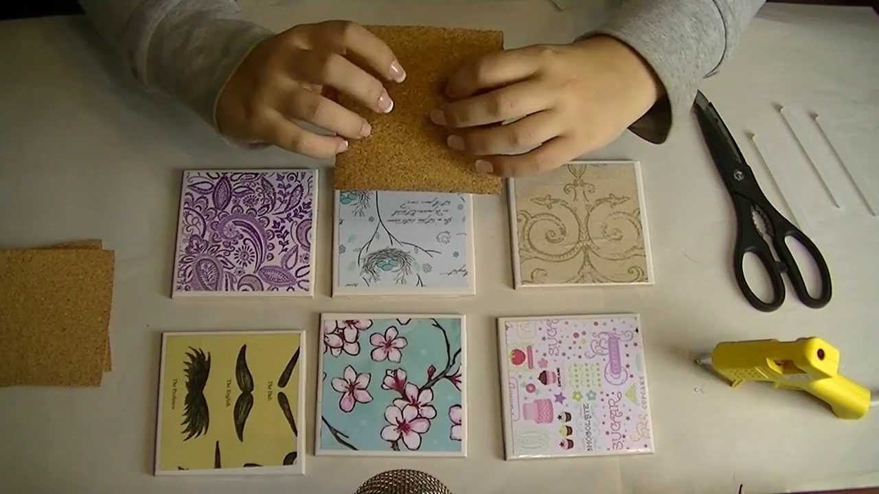 Lets make do it yourself gift tile coasters for asmr relaxation lets make do it yourself gift tile coasters for asmr relaxation and sleep youtube solutioingenieria Image collections