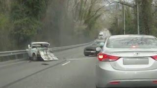Жесткие аварии Апрель 2015