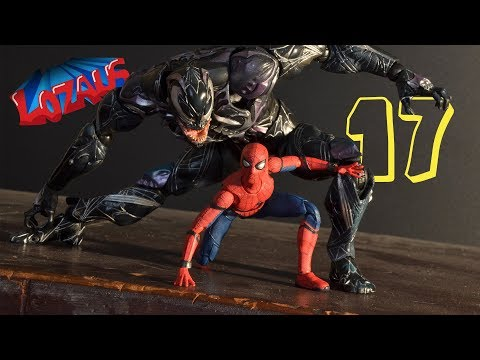 Thumbnail: SPIDERMAN STOP MOTION Action Video Part 17