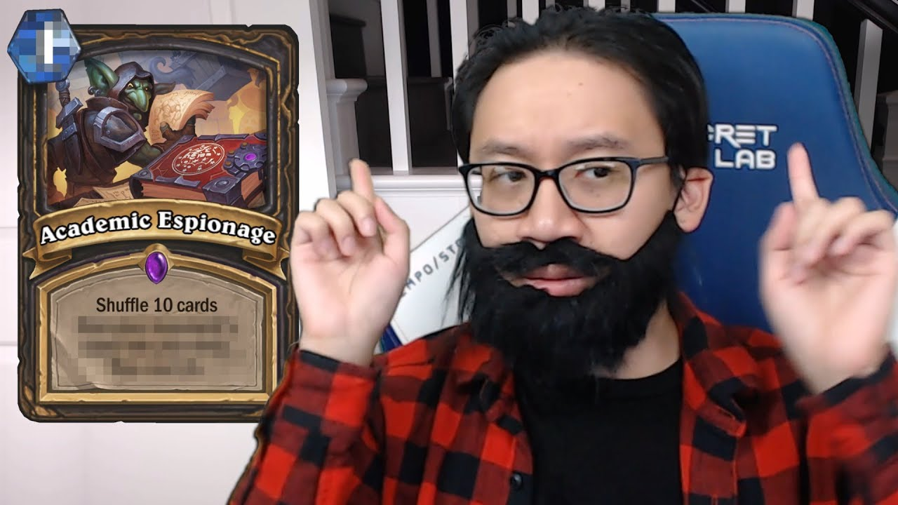 New Rogue Card Reveal - Academic Espionage - News - HearthPwn