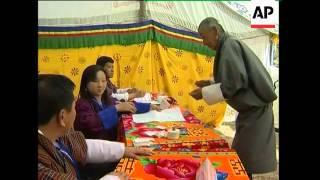 Bhutan - First ever election