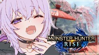 【MONSTER HUNTER RISE】狩りにいくんだよ~~ん🐈【猫又おかゆ/ホロライブ】