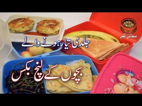 Children's School Lunch Box, Easy And Healthy Bachon Ka Lunch Box بچوں کا اسکول لنچ بکس (PK)