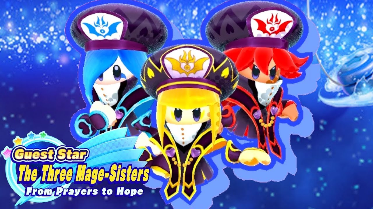 Kirby Star Allies Guest Star With The Three Mage Sisters New