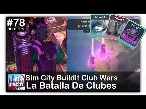 SimCity BuildIt opponents hacking during Club Wars by D JH