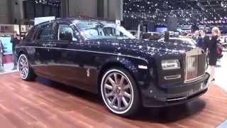 2016, Rolls Royce Phantom, Exterior and Interior, Geneva Motor Show 2015