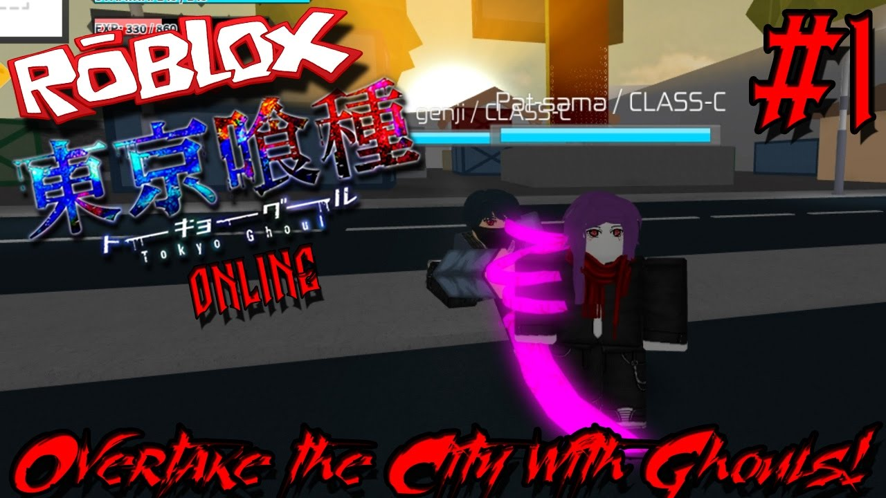 Tokyo Ghoul Ghoul Roblox Overtake The Cite With Ghouls Roblox Tokyo Ghoul Online Episode 1 Youtube