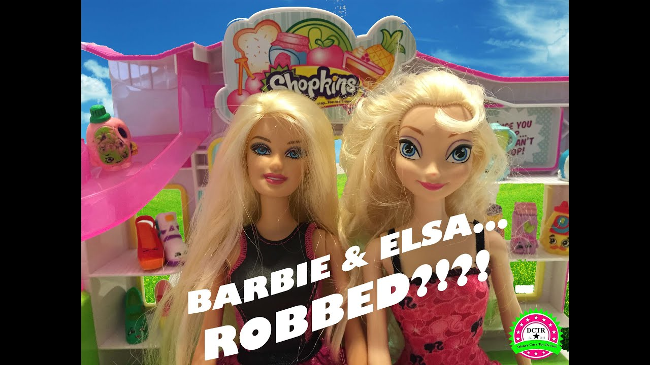elsa barbie videos