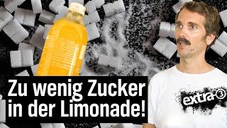 Realer Irrsinn: Zu wenig Zucker in Limonade
