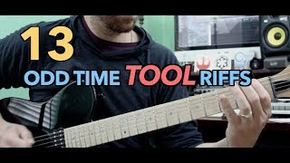 Download 13 Odd Time Tool Riffs Mp3 and Videos