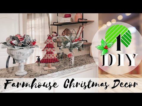 Dollar Tree Christmas DIY 2019 | Christmas Farmhouse Home Decor