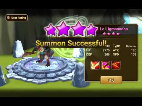 Summoner War Premium Pack with Light/Dark Scroll
