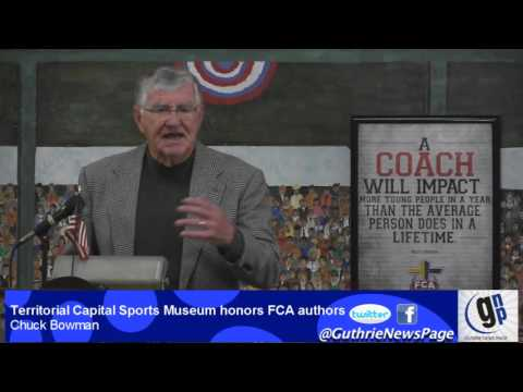 Territorial Capital Sports Museum honors FCA authors