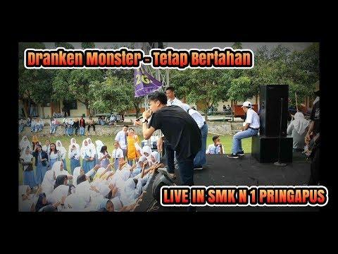DRANKEN MONSTER - Tetap Bertahan Live In SMK N 1 PRINGAPUS #SNIPERFUN
