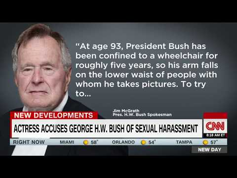 Actress accuses George H.W. Bush of sexual assault