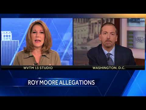 Chuck Todd of NBC's Meet the Press talk Roy Moore allegations