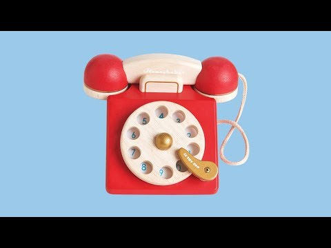 Vintage Phone | Honeybake© Collection | Le Toy Van | Traditional Wooden Toys