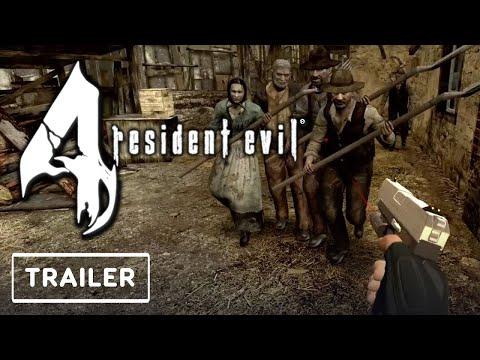 Resident Evil 4 VR - Announcement Trailer | Resident Evil Showcase