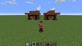 TOWN HALL LEVEL 1 IN MINECRAFT - clash of clans building tutorial