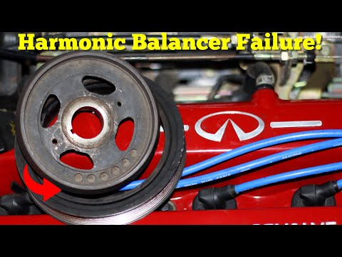 My P11 Has A Huge Problem! Here's How To Replace The Drive Belts Crankshaft Seal & Harmonic Balancer