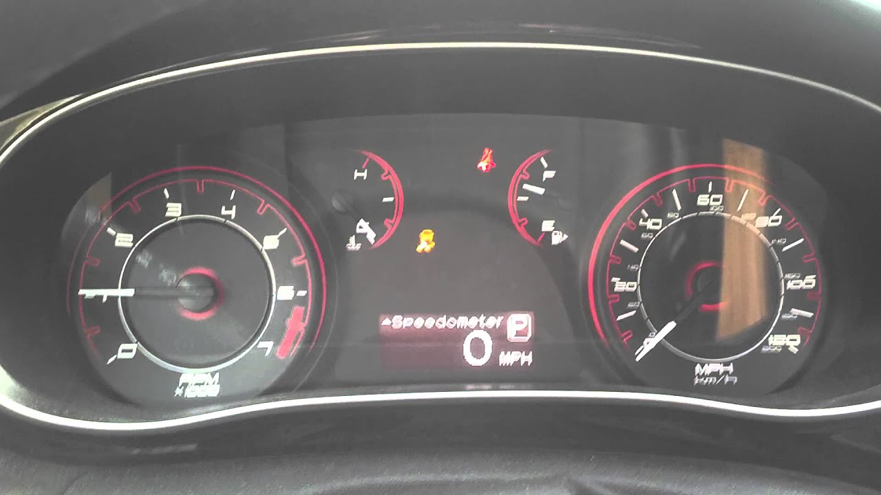 Dodge Dart traction control light issue