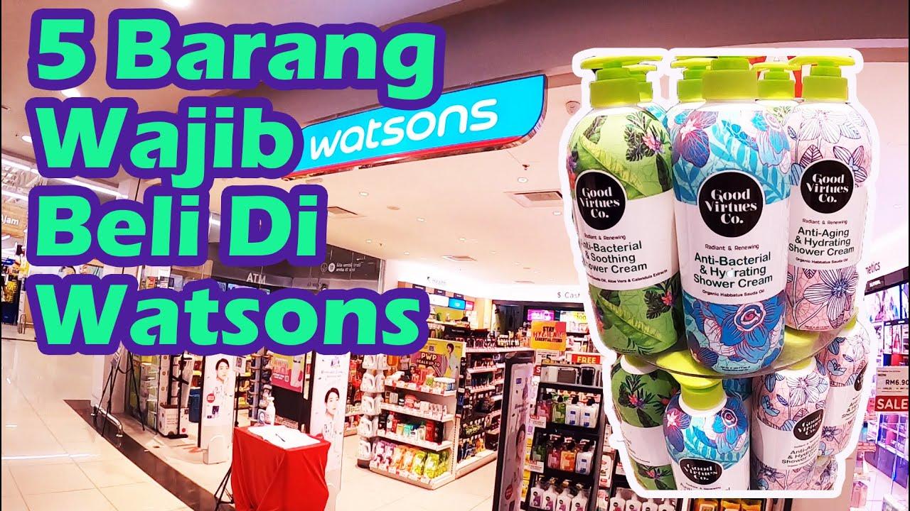 Download 5 Barang Wajib Beli Di Watson   Malaysia Vlog