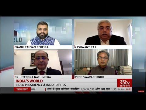 Download India's World : Biden Presidency & India- Us Ties