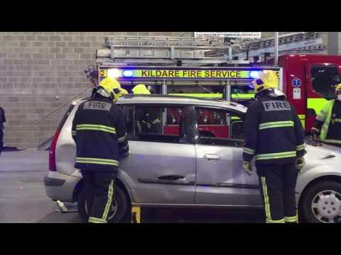 Kildare Fire Service RTC Demo