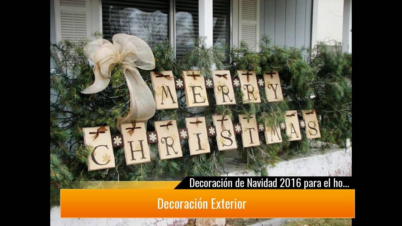 De 250 fotos decoraci n de navidad 2017 para el hogar y - Decoracion de navidad para oficina ...